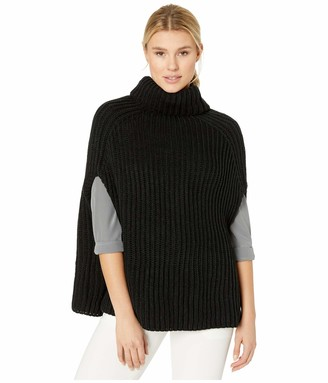 Vince Camuto Women's Ribbed Knit Poncho