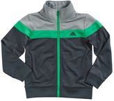 adidas Boys 4-7x Tricot Colorblock Jacket