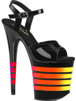 Pleaser USA Women's Flamingo 809UVLN Platform Sandal