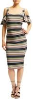Nicole Miller Sophia Festival Stripes Dress