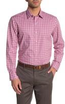 Zachary Prell Duran Plaid Print Dress Shirt