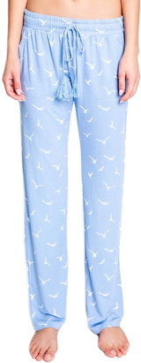 PJ Salvage In Flight Bird Print Lounge Pants