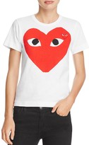 Comme des Garcons Large Heart Graphic Tee