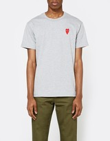 Comme des Garcons Play T-Shirt in Grey