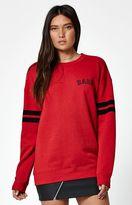 La Hearts Babe Boyfriend Crew Neck Sweatshirt