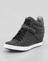 Splendid Hayden Herringbone Hidden-Wedge Sneaker (Stylist Pick!)