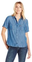 Levi's Women's Short Sleeve Beverly Shirt