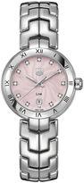 Tag Heuer Ladies' Link Stainless Steel Pink Dial Watch