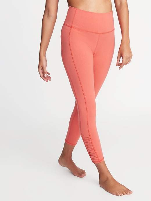 4ac126d629864 Ruched Ankle Leggings - ShopStyle