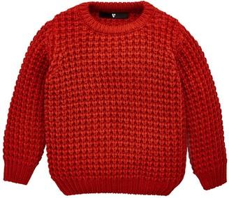 Very Core Knit Jumper - Rust