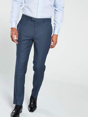 Skopes FermoCheck Suit Trouser - Blue