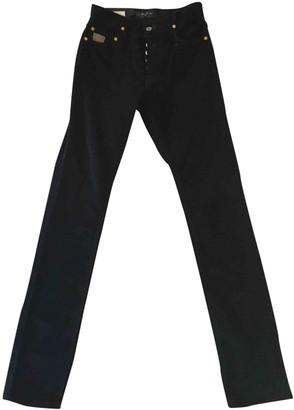 April 77 Black Velvet Trousers for Women