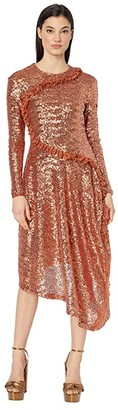 Preen by Thornton Bregazzi Yasmeen Dress (Copper) Women's Clothing