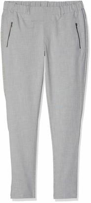 Kaffe Jillian Vilja Women's Fabric Trousers - Grey - 10
