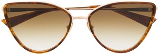 Christian Roth Cat-Eye Tinted Sunglasses