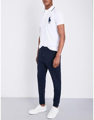 Polo Ralph Lauren Men's Aviator Navy Blue Logo Skinny Jersey Jogging Bottoms, Size: XXL