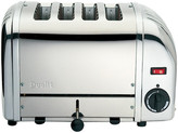 Dualit 4 Slot Polished Stainless Steel Vario Toaster 40352