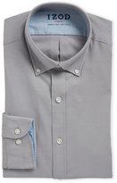 Izod Grey Slim Fit Dress Shirt