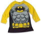 DC Comics Batman Baby/Toddler Boys' Long Sleeve T-shirt with Cape