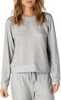 Beyond Yoga Favorite Printed Raglan Crewneck Pullover