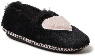 Dearfoams Mia Faux Fur Slipper