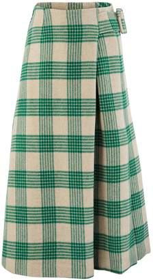 REJINA PYO Ellis wool mix skirt