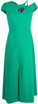 Roland Mouret Cut-Out Detail Dress