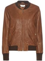 Etoile Isabel Marant Isabel Marant, Étoile Brantley Leather Bomber Jacket