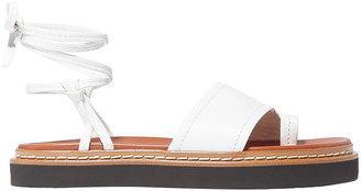 3.1 Phillip Lim Yasmine Lace-up Leather Sandals