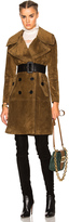 Burberry Suede Coat