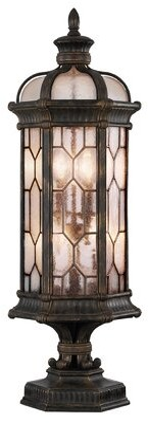 Fine Art Lamps Foret 3 Light 22 Semi Flush Mount Fixture Finish Gold Shopstyle Lighting