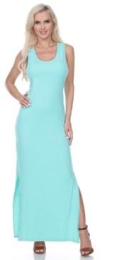 White Mark Women's Cameron Maxi Dress