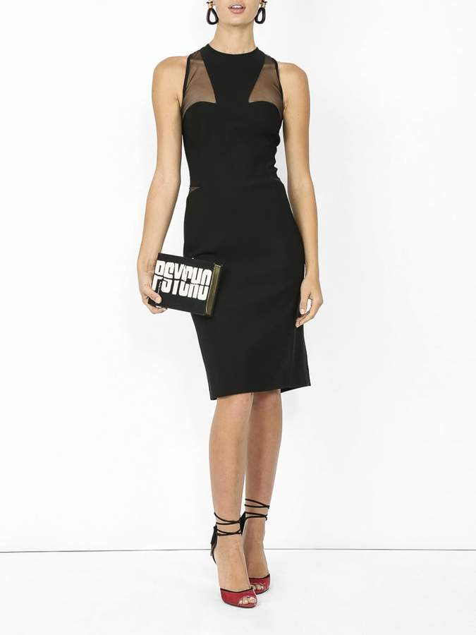 Thierry Mugler Fitted sleeveless dress