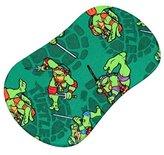 SheetWorld Fitted Bassinet Sheet (Fits Halo Bassinet Swivel Sleeper) - Ninja Turtles Shells - Made In USA