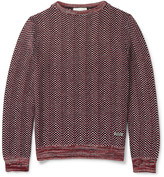 Gucci Textured-Knit Cotton Sweater