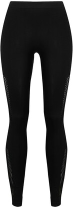 Unravel Project mid-rise cut-out leggings