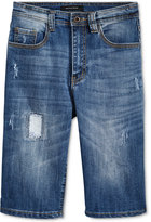 Sean John Frayed Ripped Jean Shorts, Big Boys (8-20)