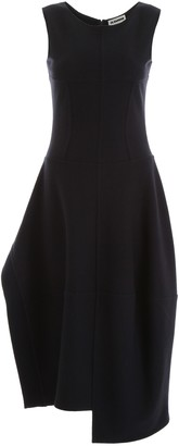 Jil Sander Dress With Ruffle