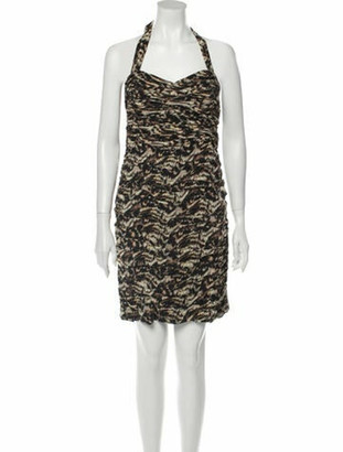 Alice + Olivia Silk Knee-Length Dress w/ Tags