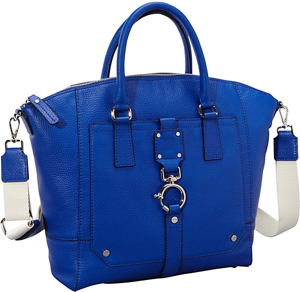 Milly Felicity Pebble Spring Clip Tote
