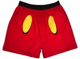 Licensed Men's Mickey Mouse Boxer Briefs - Red