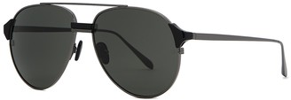 Linda Farrow Luxe Brooks aviator-style sunglasses