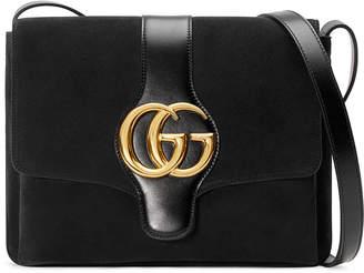 Gucci Arli Medium Suede Shoulder Bag