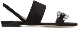 Jimmy Choo Saphera Suede Sandals