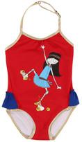 Little Marc Jacobs Sale - Baby Rollerskate Miss Marc 1 Piece Swimsuit