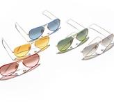 Ray-Ban Aviator Gradient Sunglasses, White