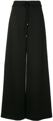 Adam Lippes Wide-Leg Jersey Trousers
