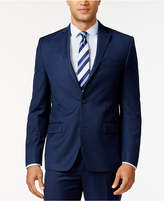Michael Kors Men's Blue Solid Classic-Fit Jacket