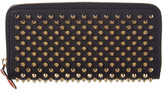 Christian Louboutin Panettone Studded Leather Zip-Around Wallet