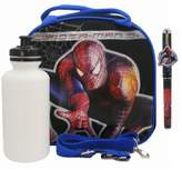 Marvel Spiderman Lunch Bag with a Water Bottle - Black by Spiderman-3